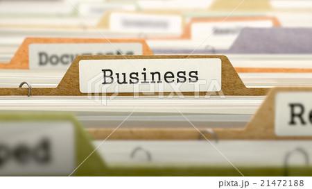 Business - Folder in Catalog. 21472188