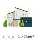家 一軒家 一戸建てのイラスト 21473007
