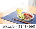 冷やし中華 麺類 夏料理の写真 21484995