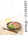 冷やし中華 麺類 夏料理の写真 21484997