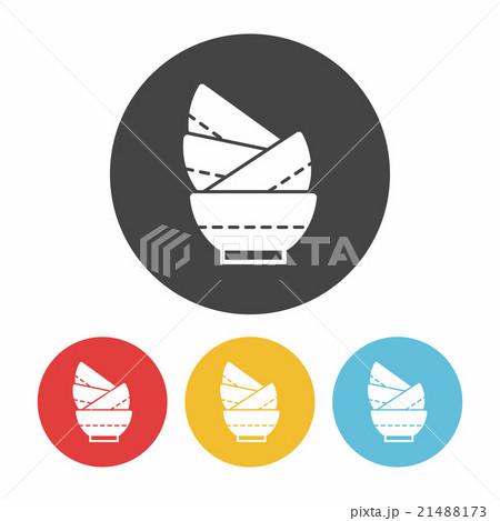 bowl iconのイラスト素材 [21488173] - PIXTA