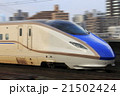 流し撮り 北陸新幹線 新幹線の写真 21502424