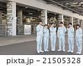 チーム 倉庫 作業着の写真 21505328