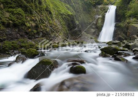 宮城県仙台国指定名勝秋保大滝は日本一マイナスイオン心と身体を休め癒される緑と綺麗な水が観光スポット 21508932