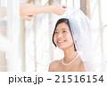 花嫁 ベール ウエディングの写真 21516154