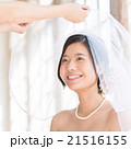 花嫁 ベール ウエディングの写真 21516155