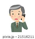 電話 困る スマートフォンのイラスト 21516211