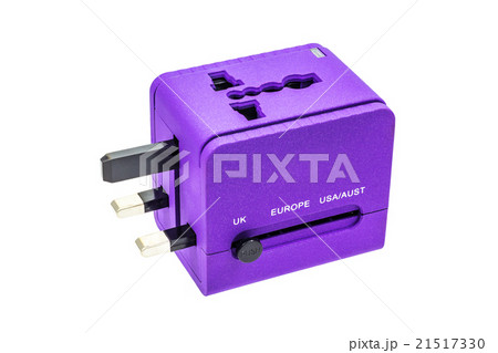 Travel adapter for UK zoneの写真素材 [21517330] - PIXTA