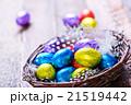 イースター たまご 卵の写真 21519442