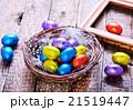 イースター たまご 卵の写真 21519447