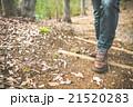 男性 散策 足元の写真 21520283