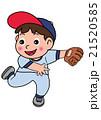 少年野球のピッチャー 21520585