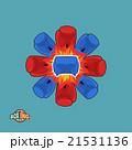 boxing logo. Vector illustration 21531136