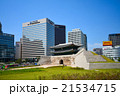 韓国 ソウルの街並み 21534715