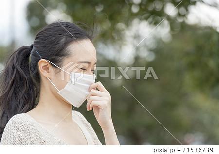 花粉症の女性 21536739