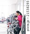 女性 運動 フィットネスジムの写真 21538293