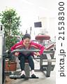 女性 運動 フィットネスジムの写真 21538300