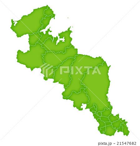 京都 地図 緑 アイコン  21547682