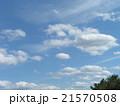 春の青空に白い雲 21570508