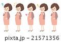 妊婦 マタニティ 妊娠のイラスト 21571356
