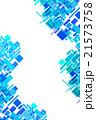 グラフィック 模様 四角形のイラスト 21573758