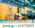 トレーニング ワークアウト 筋力トレーニングの写真 21575655
