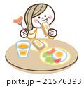 子供 朝食 21576393
