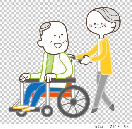 介護 老夫婦 21576398