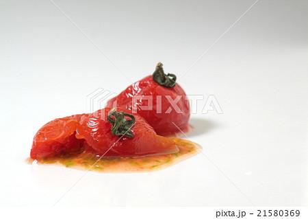 潰れたミニトマト 21580369