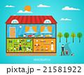 幼稚園 ポスター 張り紙のイラスト 21581922