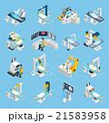 ロボット 手術 アイコンのイラスト 21583958