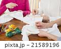女性 刺繍 手芸の写真 21589196