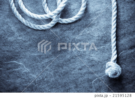 ship rope at backgroundの写真素材 [21595128] - PIXTA