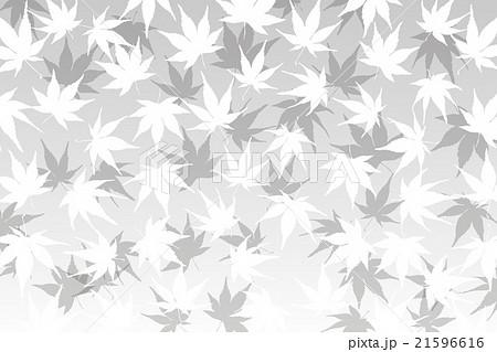 背景素材壁紙 もみじ 椛 モミジ 紅葉 落ち葉 秋 山 風景 植物 自然 和風 日本 東洋 伝統模様のイラスト素材
