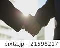 握手 成立 ビジネスマンの写真 21598217