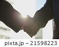 握手 成立 ビジネスマンの写真 21598223