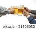 ビール 生ビール 乾杯の写真 21606032