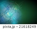 エレクトロニクス 部品 アブストラクトのイラスト 21618249