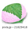 桜餅 餅菓子 和菓子のイラスト 21629418