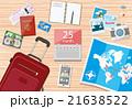 ベクトル 夏 パスポートのイラスト 21638522