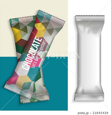 Blank Foil Food Snackのイラスト素材 [21645439] - PIXTA