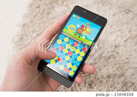 スマホゲームイメージ(架空のゲーム) 21648308