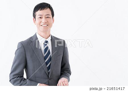 笑顔のビジネスマン 21651417
