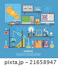 Science Research Laboratory Flat Banner  21658947