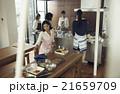 人物 女性 料理教室の写真 21659709