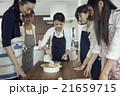 人物 女性 料理教室の写真 21659715