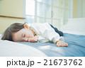 赤ちゃん 寝顔 睡眠の写真 21673762
