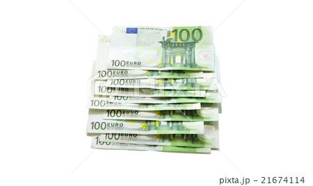 euro bills euro banknotes moneyの写真素材 [21674114] - PIXTA