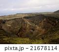 火山 山 活火山の写真 21678114