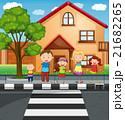 子供 子 道のイラスト 21682265
